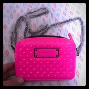 Hot Pink Victoria Secret Cluth/Crossbody Bag
